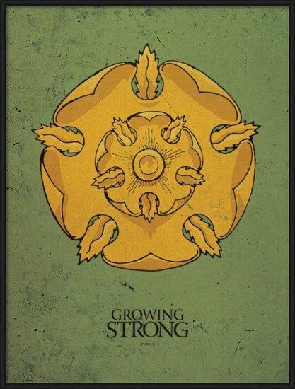 Game of Thrones - Tyrell Art Print