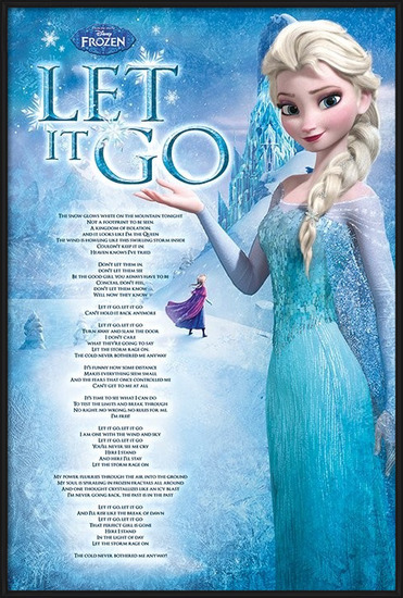 Frozen - Let it go Poster