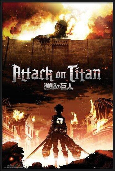 Attack on Titan (Shingeki no kyojin) - Key Art Poster