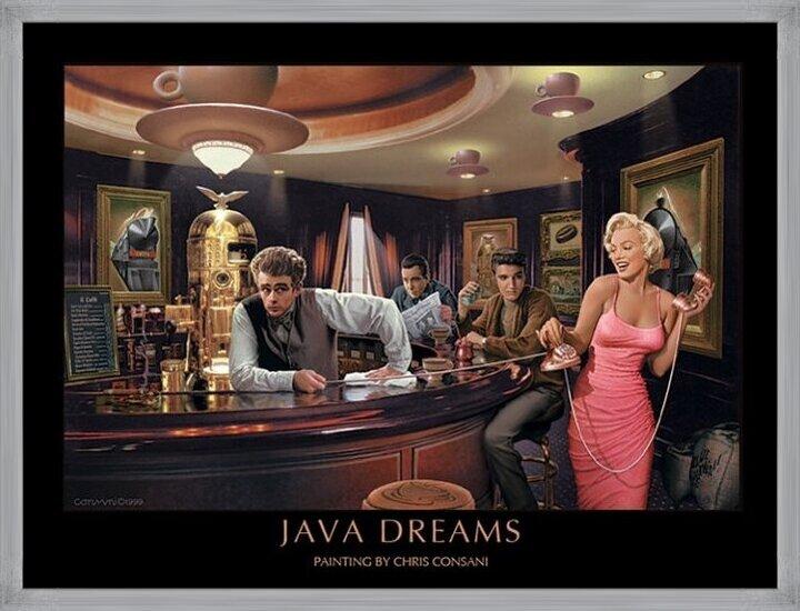 Java Dreams - Chris Consani Art Print