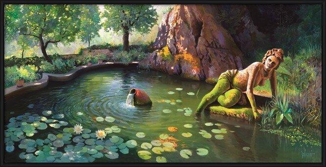 Fontana di Venere Art Print