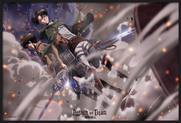 Attack on Titan (Shingeki no kyojin) - Battle Poster