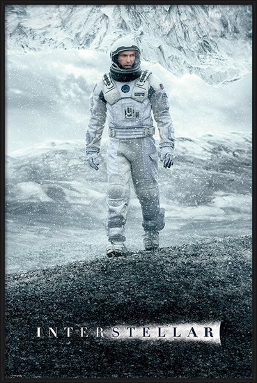 Interstellar - Ice Walk Poster