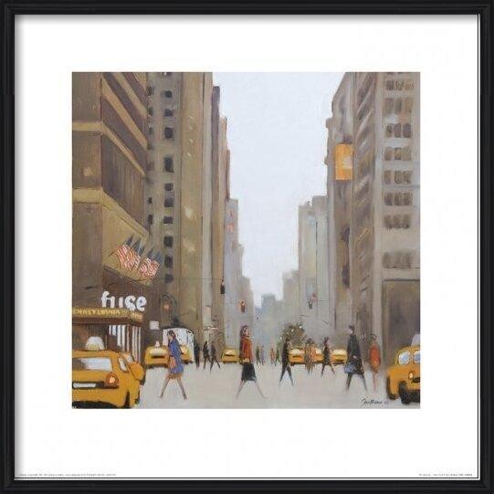 New York - 7th Avenue Art Print