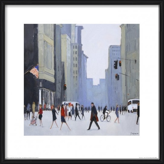 New York - 5th Avenue Art Print