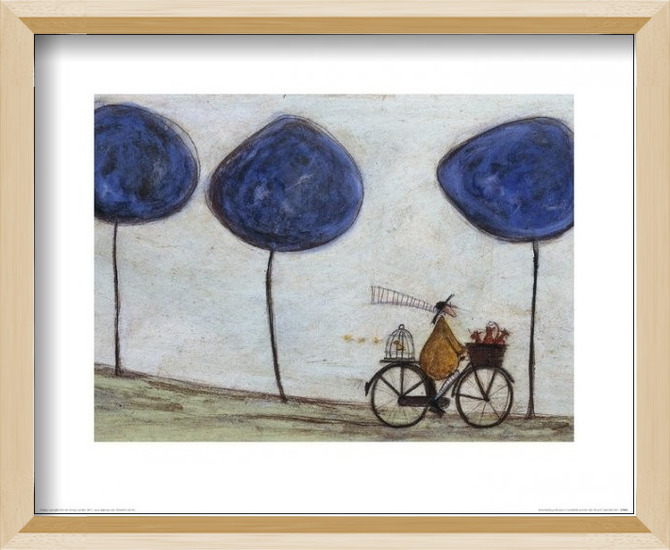 Sam Toft - Freewheelin' with Joyce Greenfields and the Felix 3 Art Print