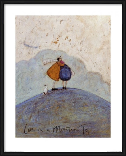 Sam Toft - Love on a Mountain Top Art Print