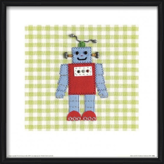 Catherine Colebrook - Robots Rule OK Art Print