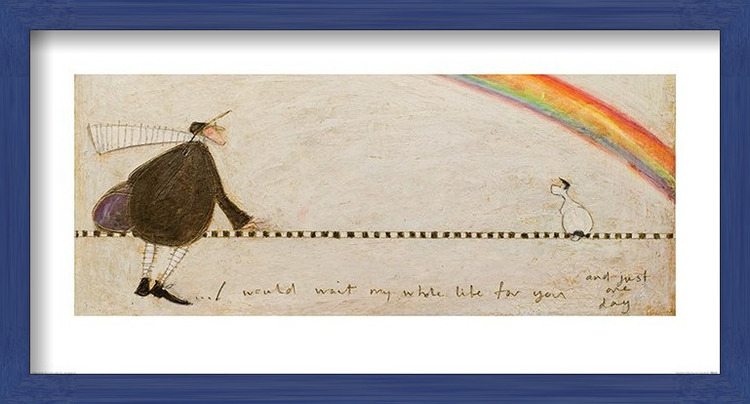 Sam Toft - I Would Wait My Whole Life For You Art Print