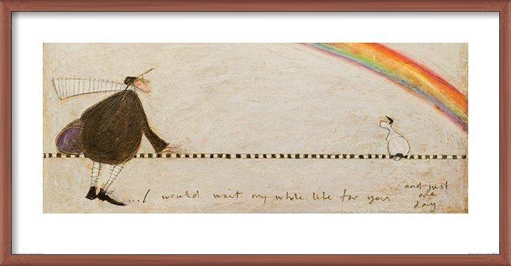 Sam Toft - I Would Wait My Whole Life For You Art Print