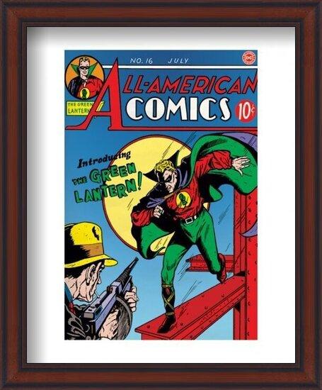 Green Lantern - Logo Art Print