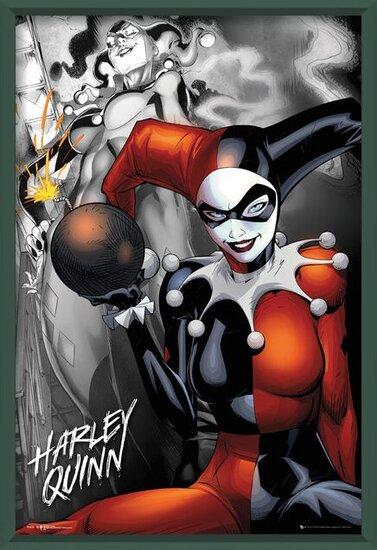 DC Comics - Quinn The Bomb Poster