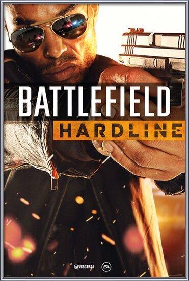 Battlefield Hardline - Cover Poster