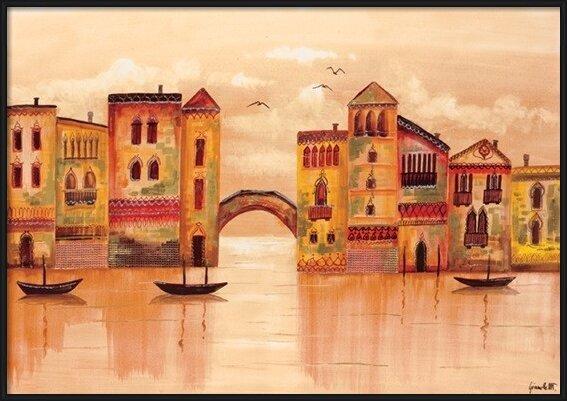 Brown Venice Art Print