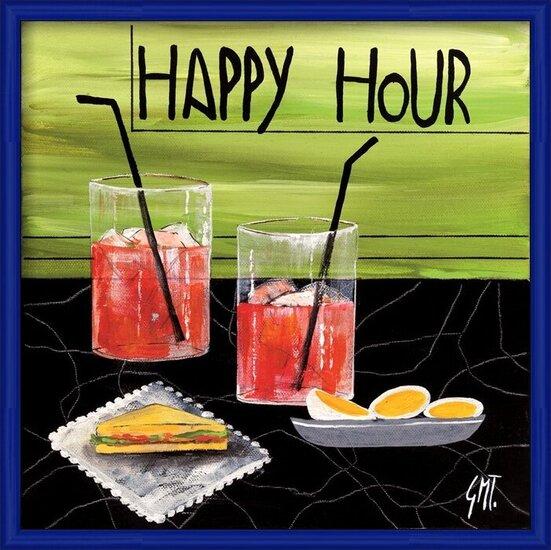 Happy Hour Art Print