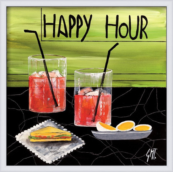 Happy Hour Art Print