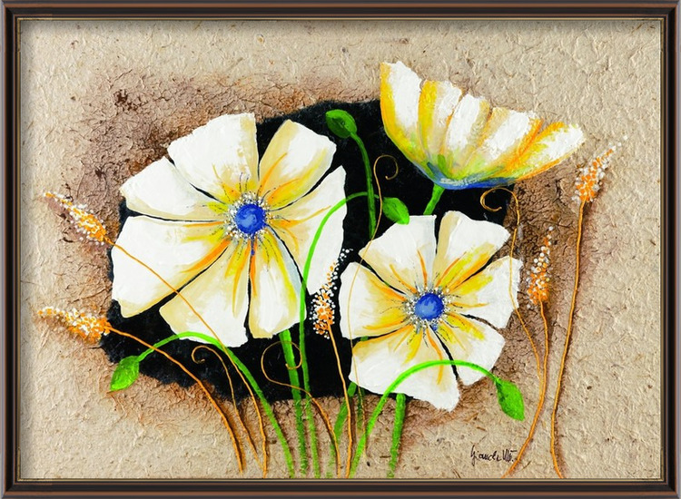 Anemone in frame Art Print