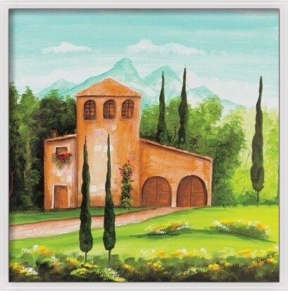 Monastery Art Print