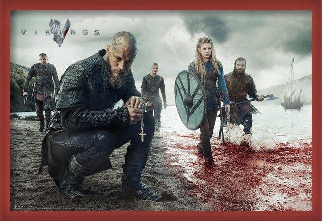 Vikings - Blood lanscape Poster
