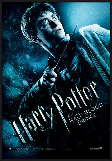 Harry Potter and the Half-Blood Prince - Harry with Magic Wand Poster