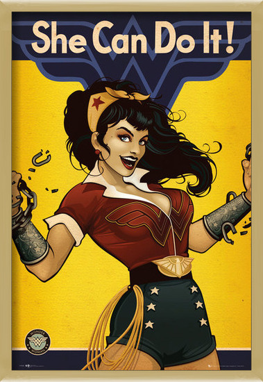 DC Comics - Wonder Woman Bombshell Poster