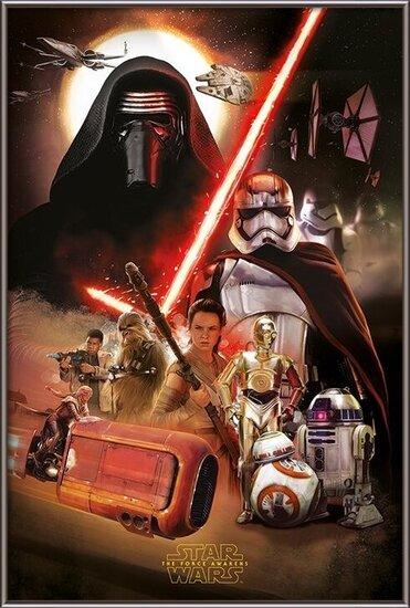 Star Wars Episode VII: The Force Awakens - Montage Poster