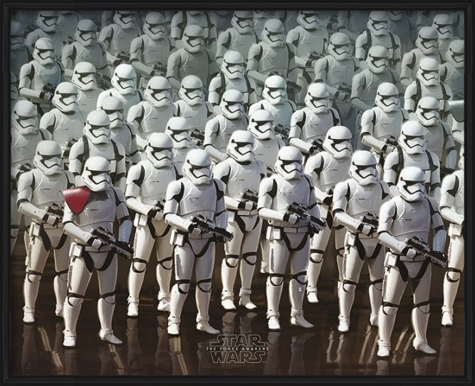 Star Wars Episode VII: The Force Awakens - Stormtrooper Army Poster