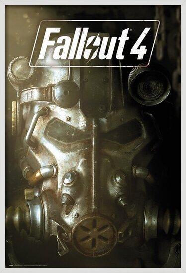 Fallout 4 - Mask Poster