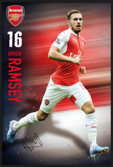 Arsenal FC - Ramsey 15/16 Poster