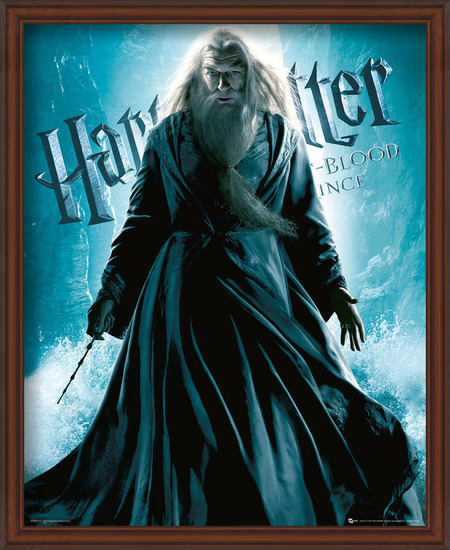 Harry Potter and the Half-Blood Prince - Albus Dumbledore Standing Art Print
