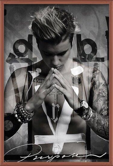Justin Bieber - Purpose Poster