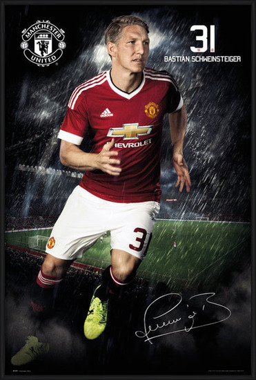 Manchester United FC - Schweinsteiger 15/16 Poster