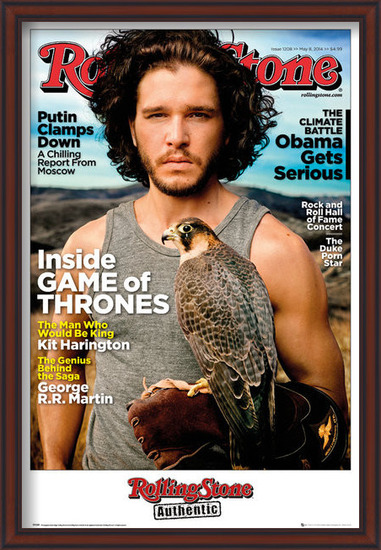 Rolling Stone - Game of Thrones Jon Stark Poster