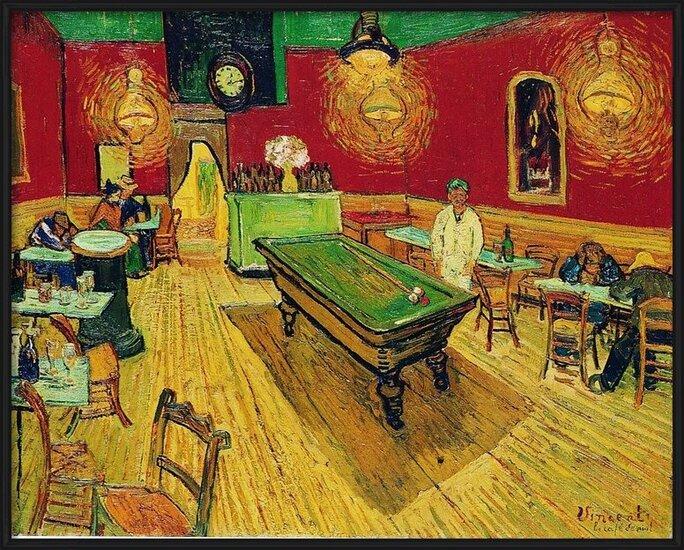 The Night Café, 1888 Art Print