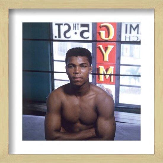 Muhammad Ali - Window Art Print