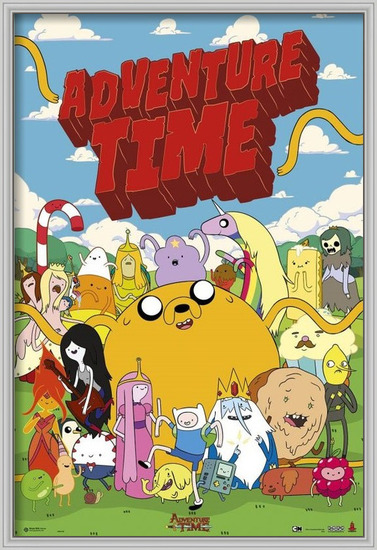 Adventure time - personajes Poster