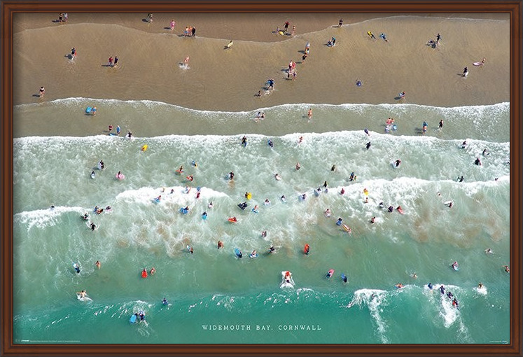 Jason Hawkes - Widemouth Bay, Cornwall Poster