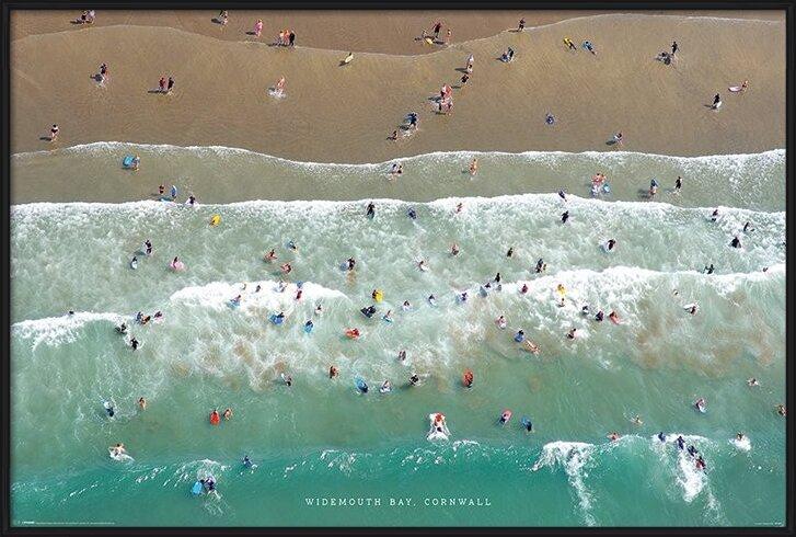 Jason Hawkes - Widemouth Bay, Cornwall Poster