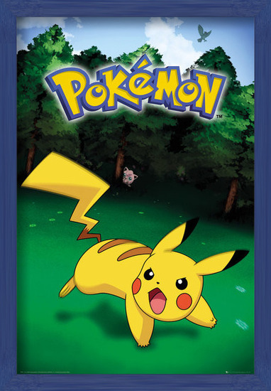 Pokemon - Pikachu Catch Poster