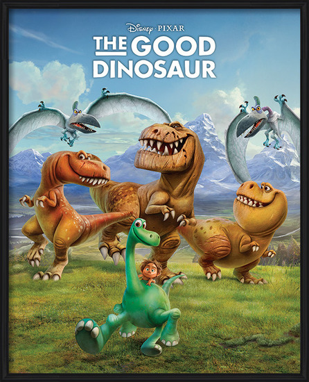 The Good Dinosaur - Characters Poster
