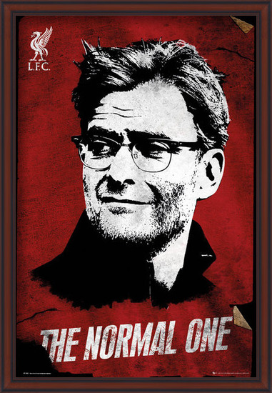 Liverpool - The Normal One Poster