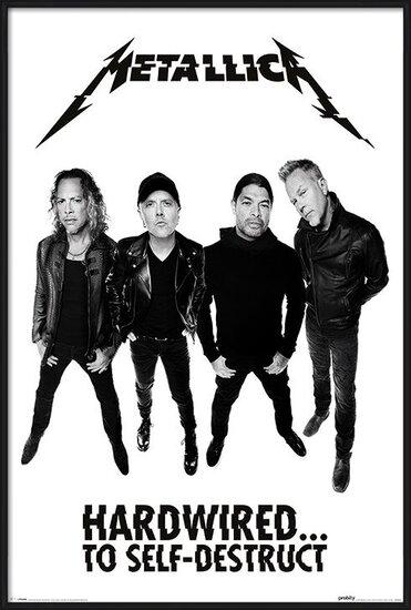 Metallica - Hardwired Band Poster
