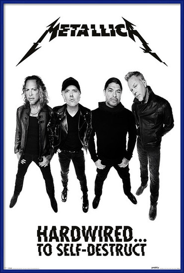 Metallica - Hardwired Band Poster