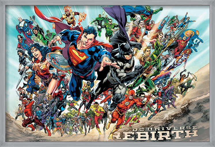 Justice League - Rebirth Poster
