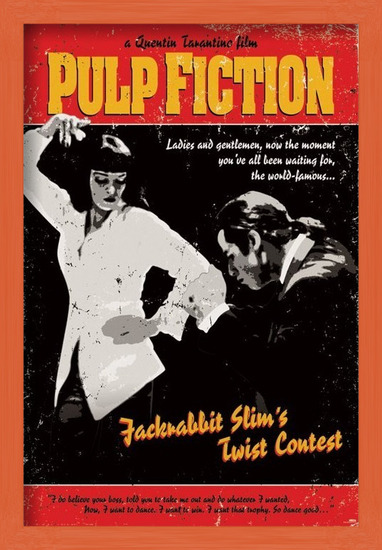 Pulp Fiction - Twist Contest Poster