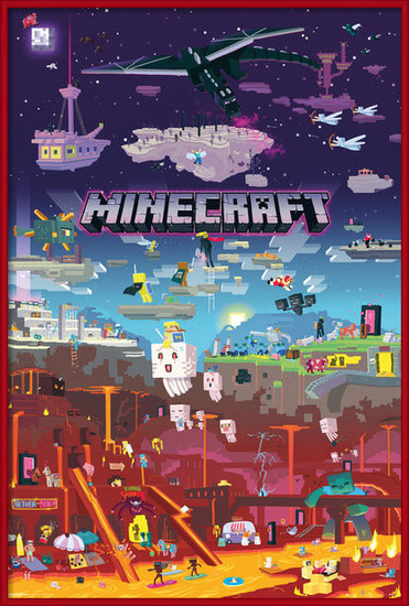 Minecraft - World Beyond Poster