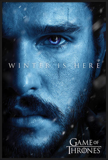 Game Of Thrones: Winter is Here - Jon Poster