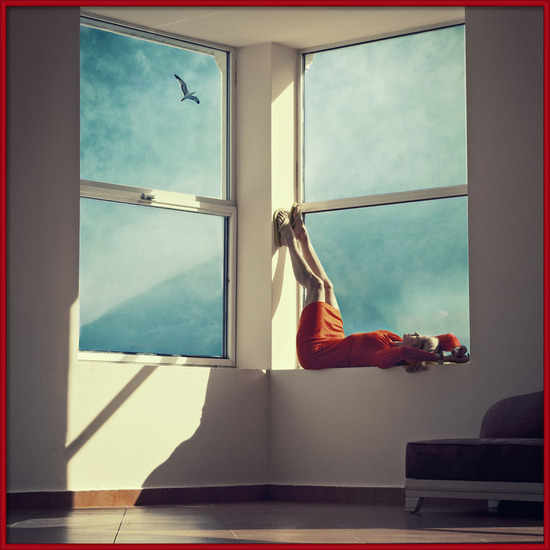 Art Print on Demand Room with a view