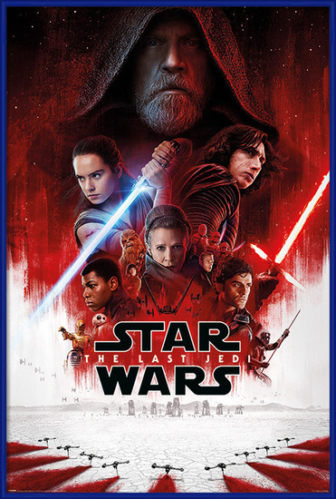 Star Wars The Last Jedi - One Sheet Poster