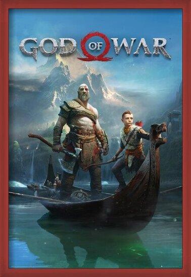 God Of War - Key Art Poster